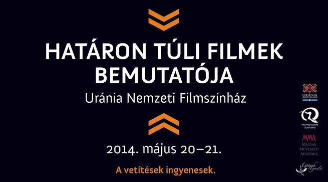 Határon túli filmek bemutatója / 2014.5.20-21
